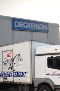 Transfert atelier EssenSole Décathlon - NC Déménagement 6