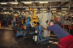 Déplacement de machines industrielles Westaflex NC Déménagement 4