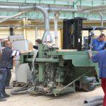 Transfert Indusriel - Machines Lycee Professionnel du Batiment Chardeuil