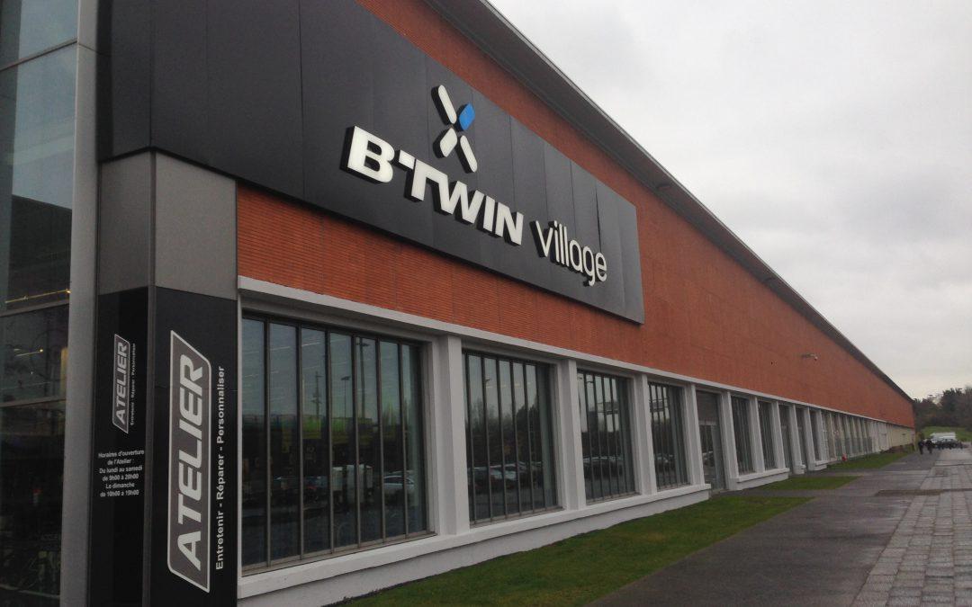 B'TWIN – Transfert de Machine