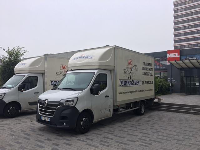 camions déménagement NC Déménagement